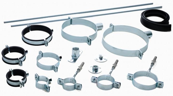 Accessori di fissaggio delle tubazioni fonoassorventi Triplus di Valsir