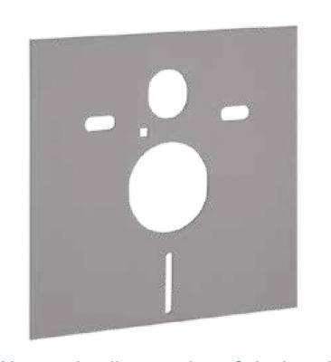 Materassino fonoassorbente per wc sospeso di Geberit