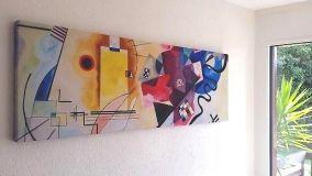 Pannelli fonoassorbenti belli come dei quadri