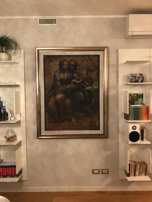 Pannello Akupan Art Leonardo di Oudimmo
