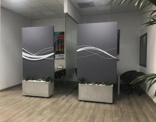 Divisori per ufficio fonoassorbenti Oudimmo