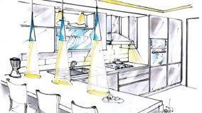 Tecniche di illuminazione della cucina: funzionali soluzioni d'arredo