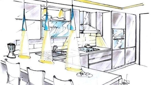 Illuminazione In Cucina Moderna.Tecniche Di Illuminazione Cucina