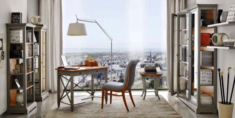 Zona studio con scrivania, by Tosato