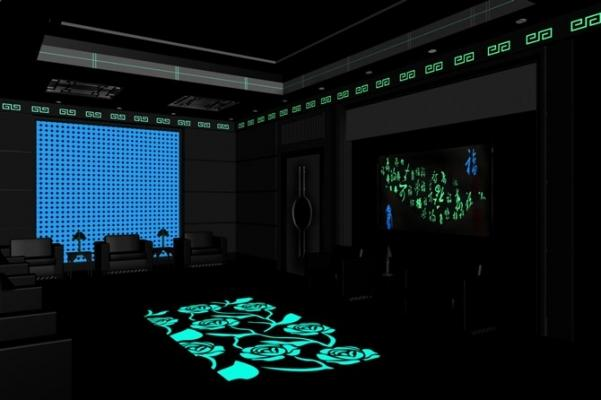 Interior design con fotoluminescenza, by Mi.B Italia