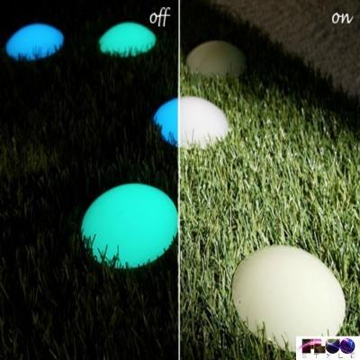 Segnapassi fotoluminescenti di FluoStyle