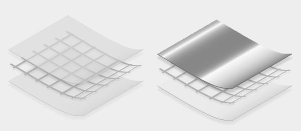 Stratigrafia delle barriere al vapore sintetiche di Riwega