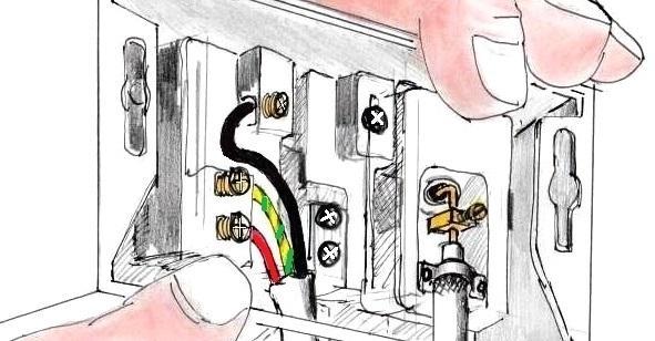 Spostare prese elettriche e cavi tv