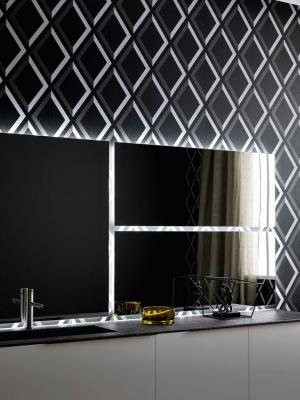 Di Arbi Bathroom la specchiera componibile luminosa per il bagno