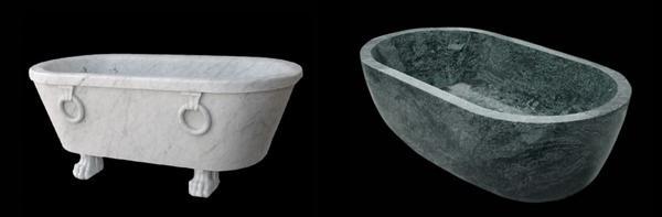 Vendita vasche da bagno in marmo di Logic Art