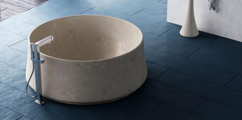 Vasche da bagno in marmo - Vasca da bagno libera installazione ...