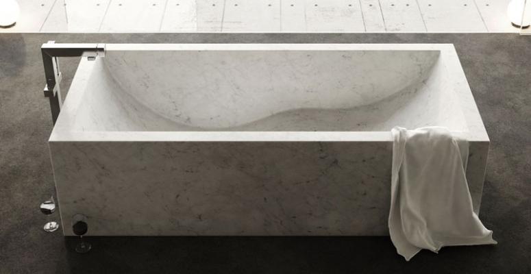 Vasca di bagno in marmo, by Dedalo Stone