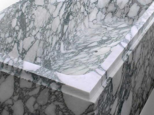 Vasca Da Appoggio : Vasche da bagno in marmo