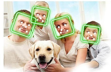 Sistema di riconscimento facciale per impianto allarme wireless di Casasicura.it
