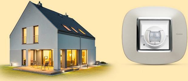 Sensori di movimento allarme wireless di Bticino