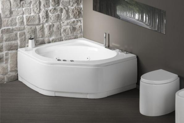 Vasca Da Bagno Angolare Piccola : Vasca da bagno triangolare: vasca da bagno: la gamma iperceramica