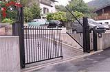 Cancello ad alzata verticale Kndly gate - Electrical Center