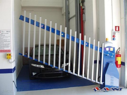 Cancello ad alzata verticale Avant - Gruppo Astro