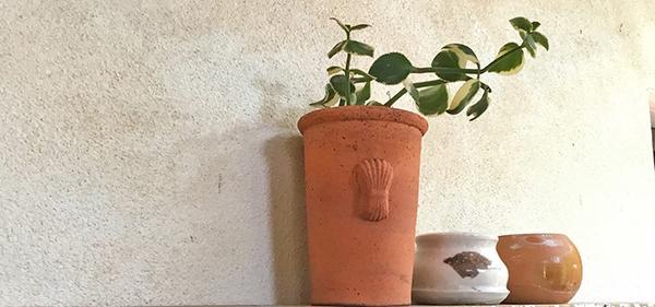 La tipica grana della tinteggiatura a calce, by La Banca della Calce