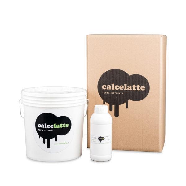 Kit Calcelatte Easy de La Banca della Calce per la tinteggiatura a calce