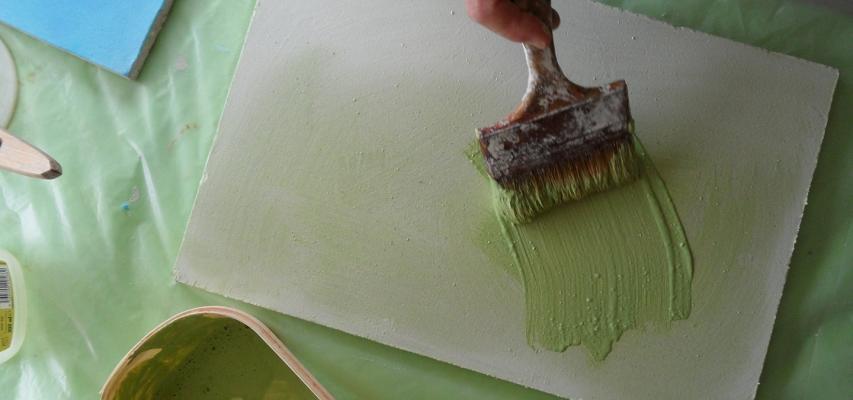 Tinteggiatura a calce Calcelatte de La Banca della Calce