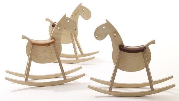 Cavallo A Dondolo Legno.Cavallo A Dondolo Per La Stanzetta