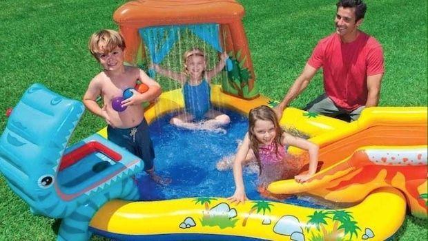 Giochi da giardino per bambini: un parco divertimenti in casa