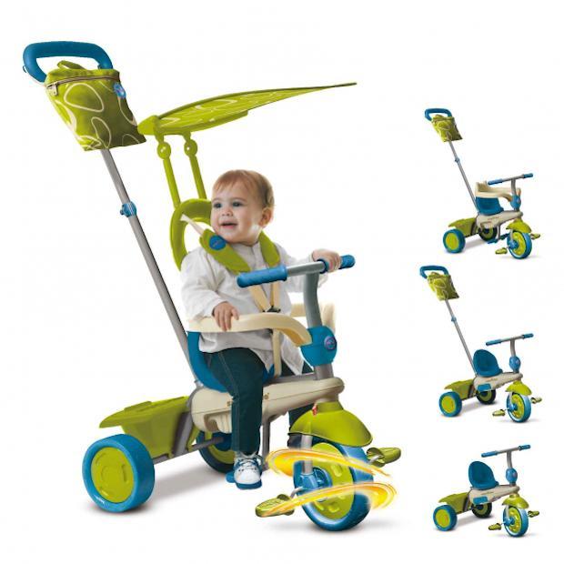 Triciclo con parasole, da Toys Center