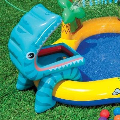 Piscina gonfiabile a forma di dinosauro, da Play Center