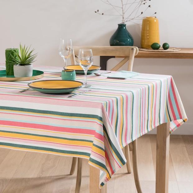Tovaglia colorata in stile tropicale, da Maisons du Monde