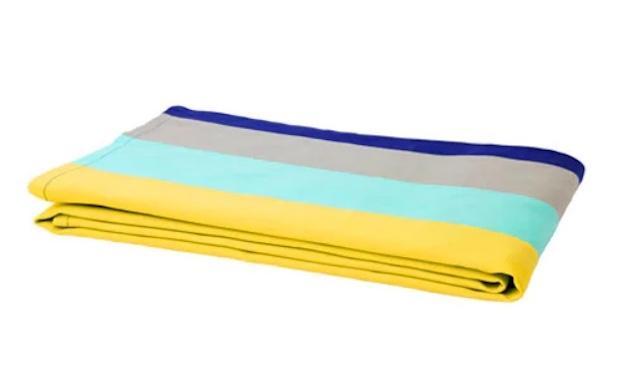 Tovaglie a righe colorate, da Ikea