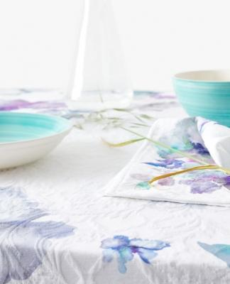 Tovaglia floreale jaquard, da Zara Home