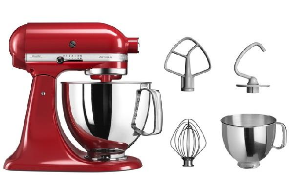 Planetaria Artisan di KitchenAid con accessori