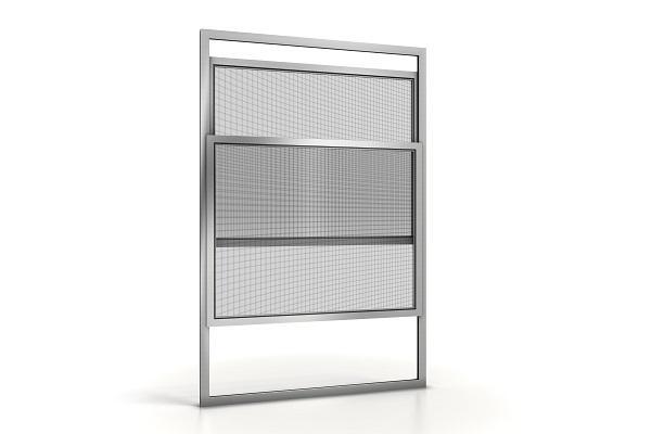 Zanzariera porta finestra Gold01 pannelli sovrapposti