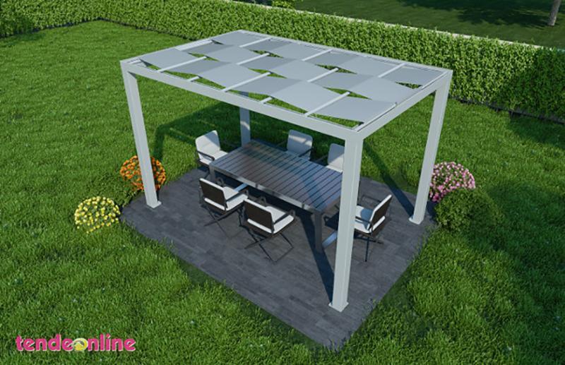 Pergolati Da Giardino In Alluminio : Pergole in alluminio