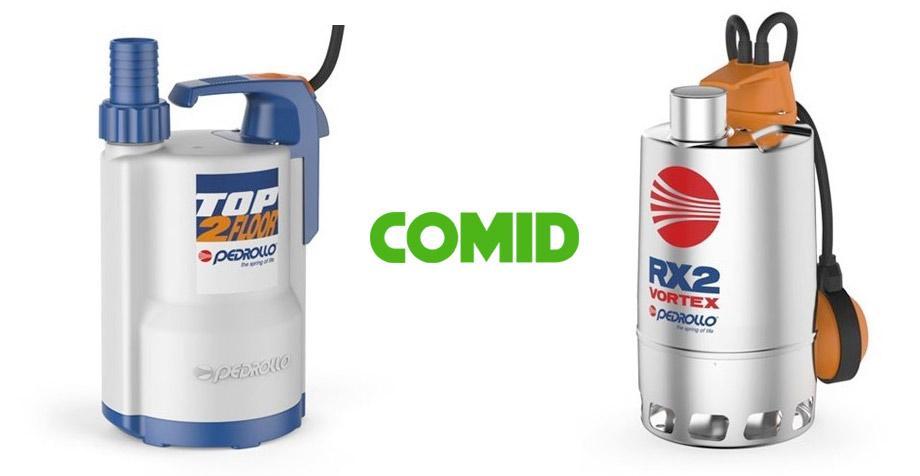 Pompe sommergibili per acque reflue Pedrollo acquistabili su COMID