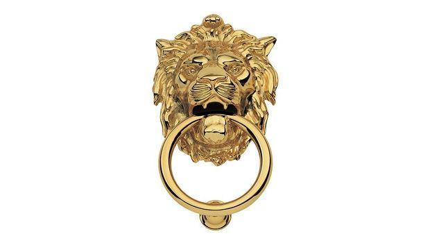 Battente ad anello per porte d'ingresso eleganti e sontuose