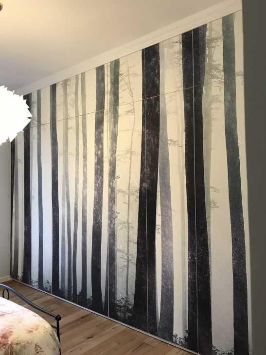 Armadio raso parete decorato di Arredi E Mobili