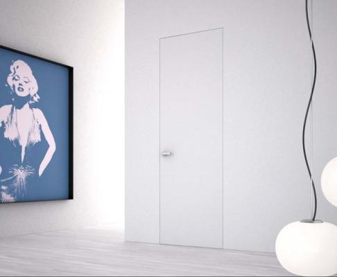 Porte filomuro armadio raso parete
