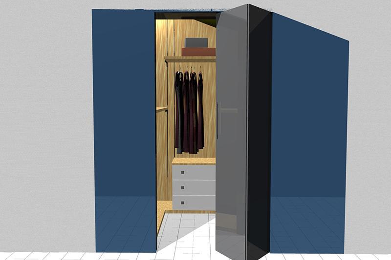 Progetto cabine armadio
