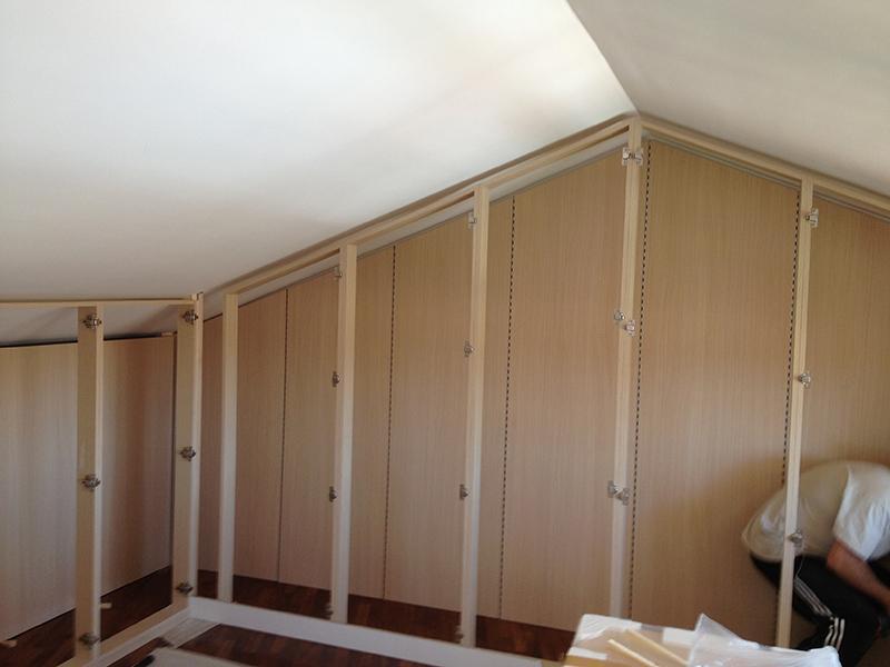 Cabina armadio in mansarda - Ante cabina armadio ...