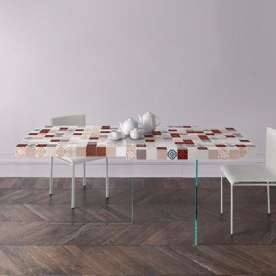 Tavolo in ceramica Air MadeTerraneo di Lago