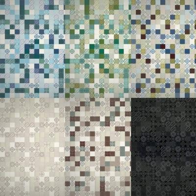 Le sei texture del tavolo in ceramica Air MadeTerraneo di Lago