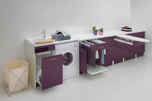 Sistemi arredo per lavanderia - Mobile da stiro ikea ...