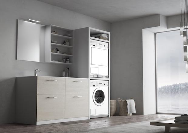 Arredo Bagno Lavanderia Ikea.Sistemi Arredo Per Lavanderia