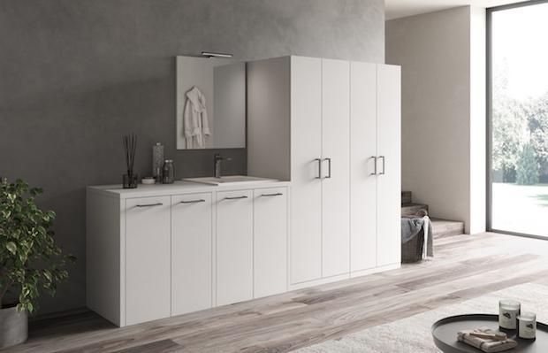 Sistemi arredo per lavanderia for Nomi di mobili