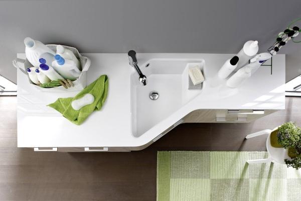 Mobili lavanderia belli e funzionali, da Arbi Bathroom