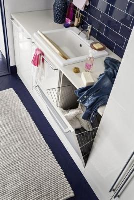 Lavanderia super organizzata, da Arbi Bathroom