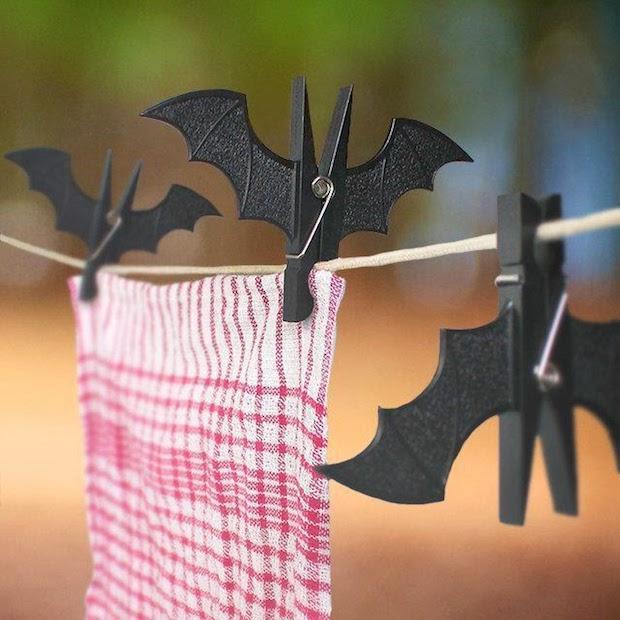 Mollette da bucato a forma di pipistrello, da Art Lebedev