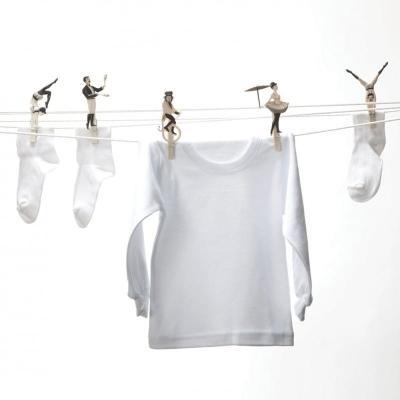 Mollette da bucato con acrobati, da pa design